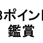 3ポイント鑑賞